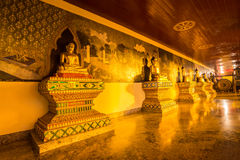 Buddha statue night time in Doi Suthep, Chiang Mai, Thailand Stock Photos