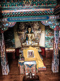 Buddha Statue at Norbulingka Institute. Norbulingka Institute, founded in 1988 by Kelsang and Kim Yeshi at Sidhpur, near Dharamshala, India, is dedicated to the Royalty Free Stock Images