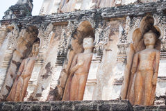 Buddha statue. In the north of Thailand Stock Photography