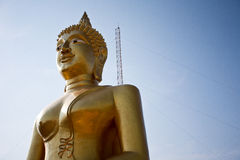 Buddha statue. At the observation site in Thailand in Pattaya Stock Images
