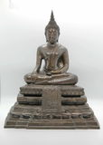 The buddha statue. Is from the one of art Ayutthaya model, Thailand Royalty Free Stock Image
