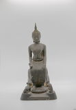 The buddha statue. Is from the one of Pa Lelai Worawihan Temple   model , Suphan Buri   Thailand Royalty Free Stock Image
