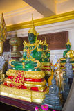Buddha statue in one of the temples of Thailand. Royalty Free Stock Photography