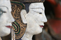 Buddha statue ornament, Thailand. Royalty Free Stock Photo