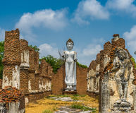 Buddha Statue. Outdoor Buddha statue with blue sky Royalty Free Stock Image