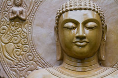 Buddha statue in pagoda Stock Photos
