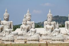 Buddha statue park in Nakhon Si Thammarat, Thailand. Beautiful and famous place Stock Photos