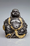 Buddha statue partially gilded Royalty Free Stock Photography