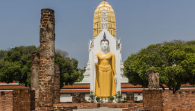 Buddha statue in Phitsanulok,Thailand Stock Photography