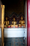 Buddha statue in at Phra Si Rattana Mahathat temple ,Phitsanulok Royalty Free Stock Images