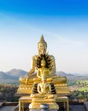 Buddha statue Phrabuddhachay Temple Stock Photo