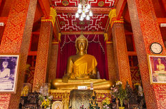 Buddha-Statue (Phralao thepnimit) Lizenzfreies Stockbild