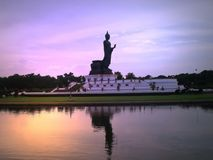 Buddha statue. At Phutthamonthon , Thailand Royalty Free Stock Image