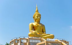 Buddha statue priest religion sky background. Buddha statue priest religion on sky background Royalty Free Stock Images