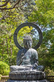 Buddha statue in Protection posture Stock Image