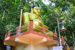 Buddha Statue. In Ranong Thailand on the mountain Stock Photography