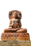 Buddha statue. Religious sacred, That is routine in the temple Royalty Free Stock Photo