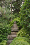 Buddha Statue at Ryoanji Temple Gardens Stock Images