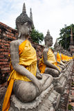 Buddha statue. Buddhas relics and modeling of Buddha stock photography