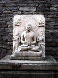 Buddha statue at sanchi stupa, India Royalty Free Stock Images