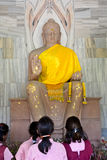 Buddha Statue at Sarnath Royalty Free Stock Photos