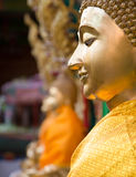 Buddha statue. The sculpture big is creed buddhist Stock Image