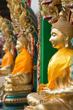 Buddha statue. The sculpture big is creed buddhist Royalty Free Stock Images
