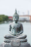 Buddha statue in Seema Malaka Temple in Colombo, S Royalty Free Stock Photo