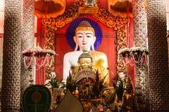 Buddha statue Shan style , Wat Papoa Chiangmai Thailand Royalty Free Stock Photo