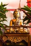 Buddha statue Shan style , Wat Papoa Chiangmai Thailand Stock Photography