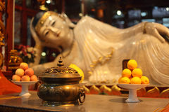 Buddha statue, Shanghai Royalty Free Stock Image