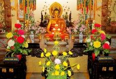 Buddha statue sitting Stock Photography