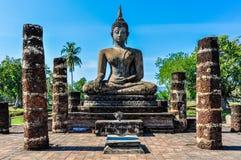 Free Buddha Statue Sitting In Sukhotai, Thailand Stock Image - 93117791