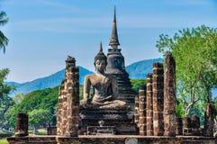 Free Buddha Statue Sitting In Sukhotai, Thailand Stock Image - 93118011