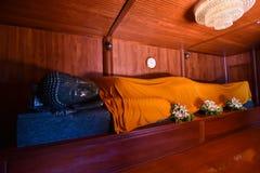Buddha statue sleep Stock Photography