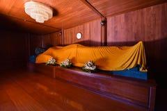 Buddha statue sleep Stock Photo