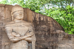 Buddha statue. On Sri Lanka island Stock Image