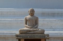 Buddha statue in Sri Lanka. royalty free stock photos