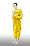 The Buddha statue stand Royalty Free Stock Images