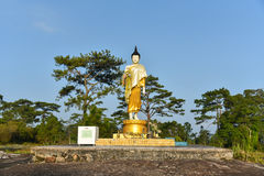 Buddha statue Stand Royalty Free Stock Photography