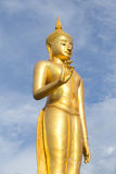 Buddha statue. Standing Buddha Statue at thailand Royalty Free Stock Images