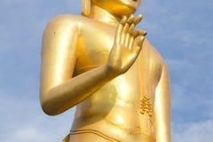 Buddha statue. Standing Buddha Statue at thailand Royalty Free Stock Photography