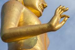 Buddha statue. Standing Buddha Statue in thailand Royalty Free Stock Images