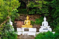 Buddha statue Stone Carving. Royalty Free Stock Photos