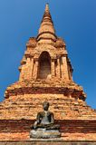 Buddha statue in Sukhothai Stock Photography