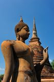 Buddha statue in Sukhothai Royalty Free Stock Photo