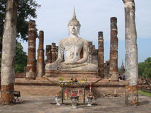 Buddha statue from Sukhothai Stock Photos