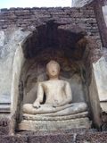 Buddha Statue of Sukhothai Royalty Free Stock Images