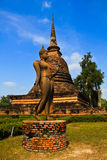 Buddha statue in Sukhothai. Historic park Royalty Free Stock Photography