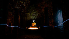 Buddha statue in Sukhothai Historical Park Royalty Free Stock Photos